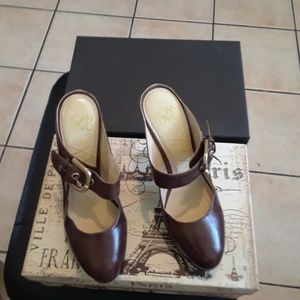Brown Platform Shoe by Joan & David